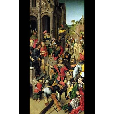 'Passion of Christ' by Master of Delft Painting Print 0-587-29027-7