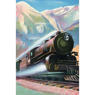 'Steaming Full Speed Ahead' Painting Print 0-587-27596-0C2030