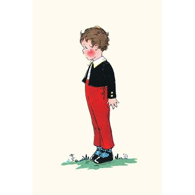 'Little Boy Who Lived Down the Lane' by Queen Holden Painting Print 0-587-27909-5