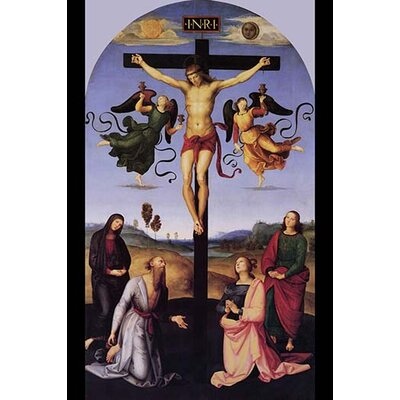 'Christ on the Cross' by Raphael or Raffalello Painting Print