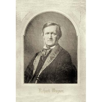 'Richard Wagner' by Theodore Thomas Photographic Print 0-587-09389-7