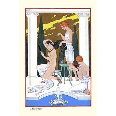 'Ancient Rome' by George Barbier Painting Print 0-587-28830-2