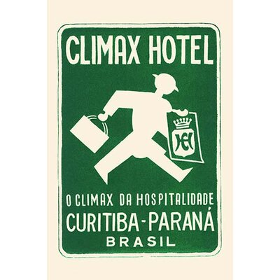 'Climax Hotel' Vintage Advertisement 0-587-31657-8