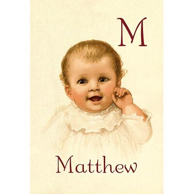 M for Matthew by Ida Waugh Painting Print 0-587-11288-3