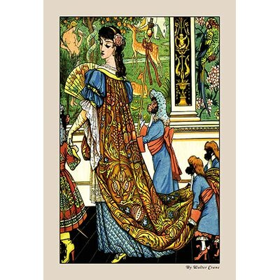 Beauty and the Beast - Beauty by Walter Crane Painting Print