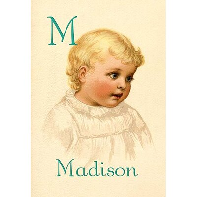 M for Madison by Ida Waugh Painting Print 0-587-11287-5