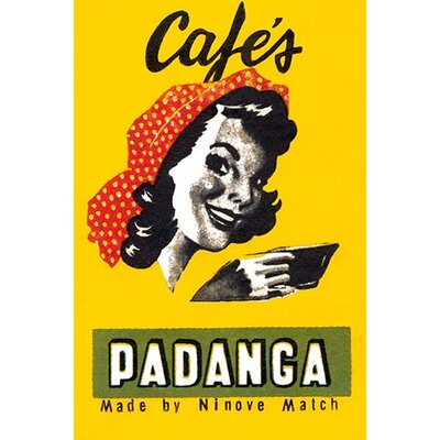 'Cafes Padanga' Vintage Advertisement 0-587-34154-8