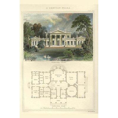 'Greek Villa' by Richard Brown Painting Print Size: 36