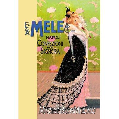 'Confezioni per Signora' by Aleardo Villa Vintage Advertisement 0-587-00446-0