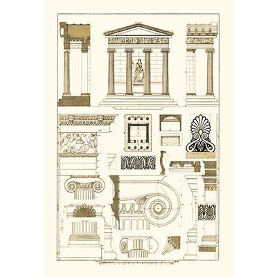 'Temple of Nike Apteros at Athens' by J. Buhlmann Graphic Art 0-587-09094-4