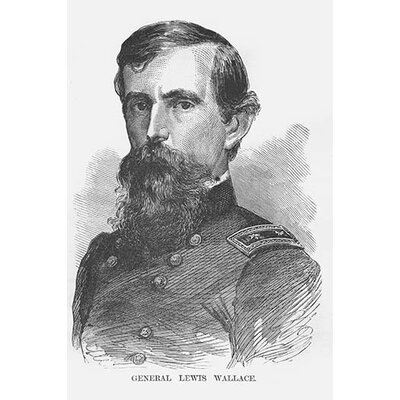 'General Lewis Wallace' by Frank Leslie Painting Print Size: 36