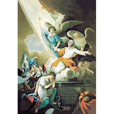 Ascension to Heaven Painting Print 0-587-02192-6