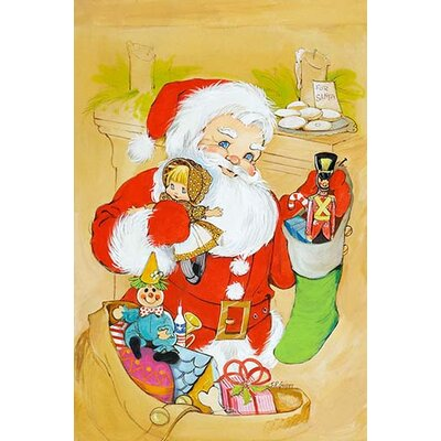 'Santa Claus Delivers' by Irene Geiger Painting Print 0-587-33382-0C2436