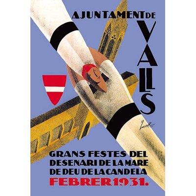 'Ajuntament de Valls' Vintage Advertisement 0-587-01742-2