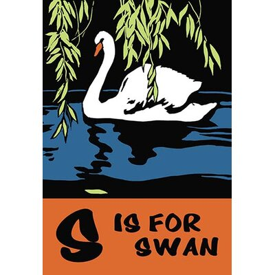 S is for Swan by Charles Buckles Falls Graphic Art 0-587-12443-1