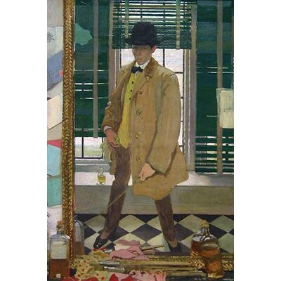 'William Orpen' by 'William Orpen' Painting Print Size: 36