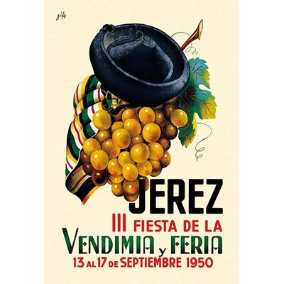 'Jerez Fiesta de la Vendimia III' by Nike Vintage Advertisement 0-587-02133-0