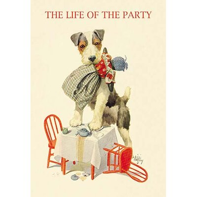 'The Life of the Party' by Robert Livingston Dickey Graphic Art Size: 66