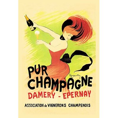 'Pur Champagne / Damery-Epernay' by Leonetto Cappiello Vintage Advertisement 0-587-00301-4
