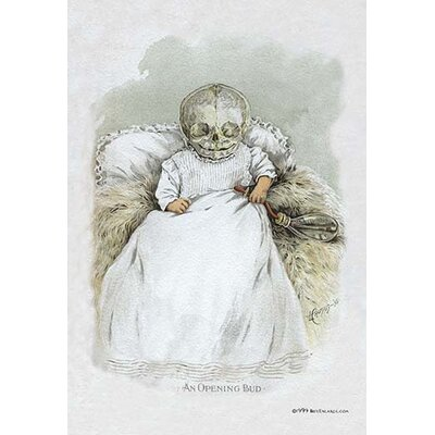 Death in Swaddling Clothing by F. Frusius M.D. Painting Print 0-587-06242-8