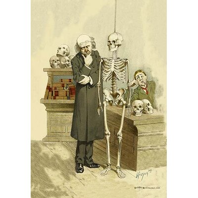 Death Under Inspection by F. Frusius M.D. Painting Print 0-587-06267-3