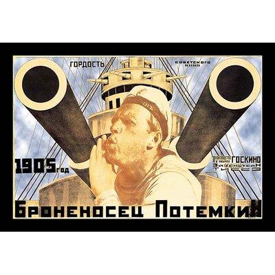 Battleship Potemkin 1905 by Anton Lavinsky Vintage Advertisement 0-587-01348-6