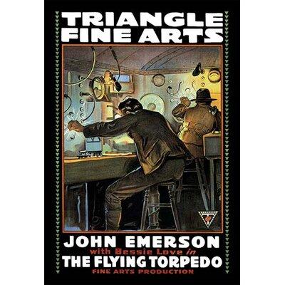 The Flying Torpedo Framed Vintage Advertisement