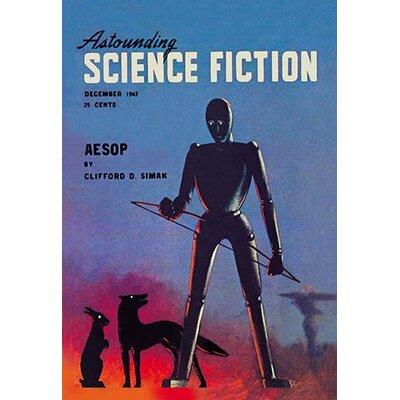 'Astounding Science Fiction, December 1947' Vintage Advertisement 0-587-02074-1