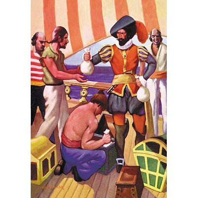 'Blackbeard' by George Taylor Print of Painting 0-587-15546-9
