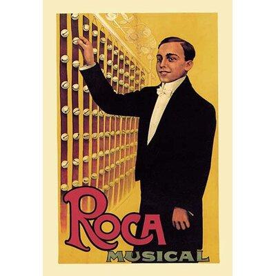 Roca Musical Vintage Advertisement