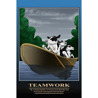 'Teamwork' by Richard Kelly Graphic Art 0-587-22004-xC2842