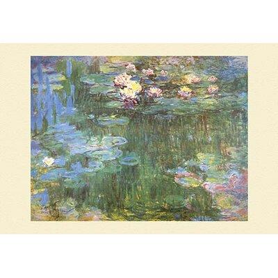 'Waterlilies, 1918' by Claude Monet Painting Print