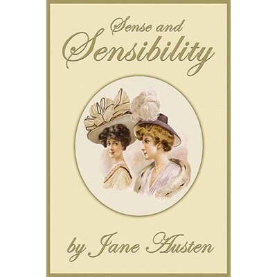 'Sense and Sensibility' by Jane Austen Graphic Art 0-587-22950-0