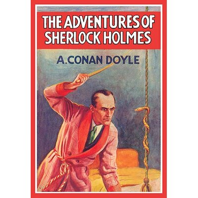 'The Adventures of Sherlock Holmes' by Arthur Conan Doyle Graphic Art
