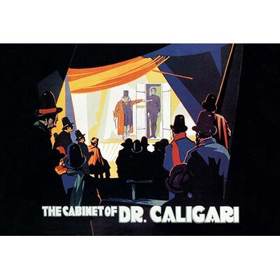 'The Cabinet of Dr. Caligari' Vintage Advertisement 0-587-07364-0C2436