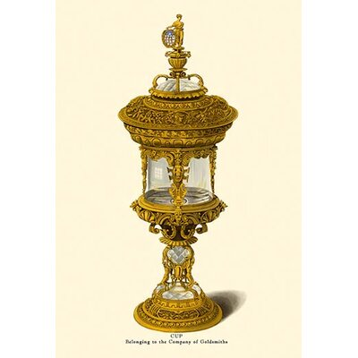 'Cup, Belonging to the Company of Goldsmiths' by H. Shaw Graphic Art 0-587-08760-9C2436
