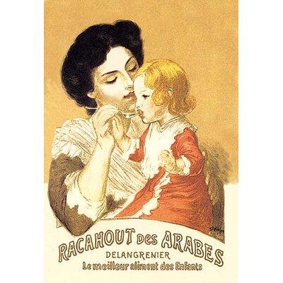 Racahout des Arabes by Theophile Alexandre Steinlen Vintage Advertisement Size: 42