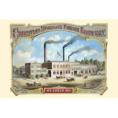 'The Phoenix Brewery, St. Louis' Vintage Advertisement Size: 30