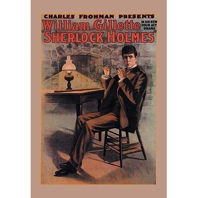 William Gillette as Sherlock Holmes Vintage Advertisement 0-587-05101-9