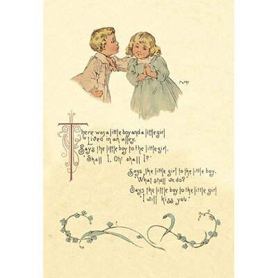 'There Was a Little Boy and a Little Girl' by Maud Humphrey Painting Print 0-587-04825-5