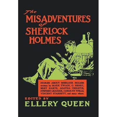 The Misadventures of Sherlock Holmes by Aage Lund Vintage Advertisement 0-587-05124-8C4466