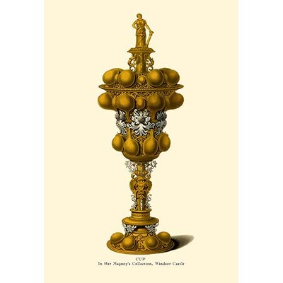 'Cup, In Her Majesty's Collection, Windsor Castle' by H. Shaw Graphic Art 0-587-08761-7