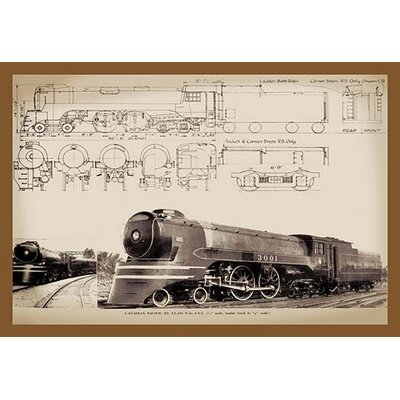 'Canadian Pacific' Graphic Art 0-587-13243-4