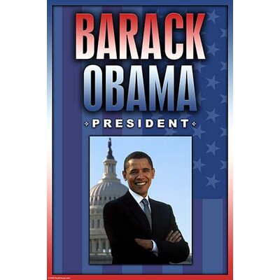 'Barack Obama. President' by Wilbur Pierce Graphic Art 0-587-23760-0