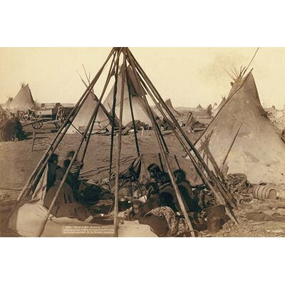 """'Home of Mrs. American Horse' by John C.H. Grabill Photographic Print Size: 30"""" H x 20"""" W 0-587-23795-3"""