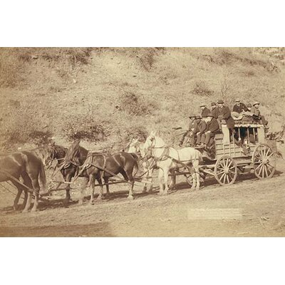 'The Last Deadwood Coach' by John C.H. Grabill Photographic Print