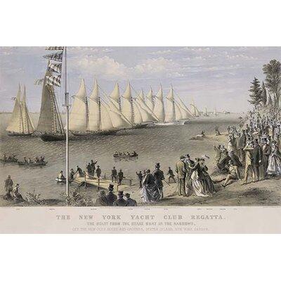 'The New York Yacht Club Regatta' Vintage Advertisement 0-587-24370-8