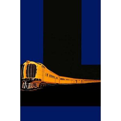 'The Golden Limited' Vintage Advertisement 0-587-23984-0
