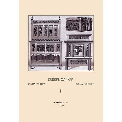 'European Armour of the 15th and 16th Centuries' by Auguste Racinet Graphic Art 0-587-13800-9