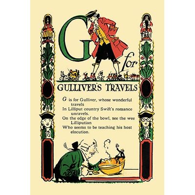 G for Gulliver's Travels by Tony Sarge Graphic Art 0-587-07427-2